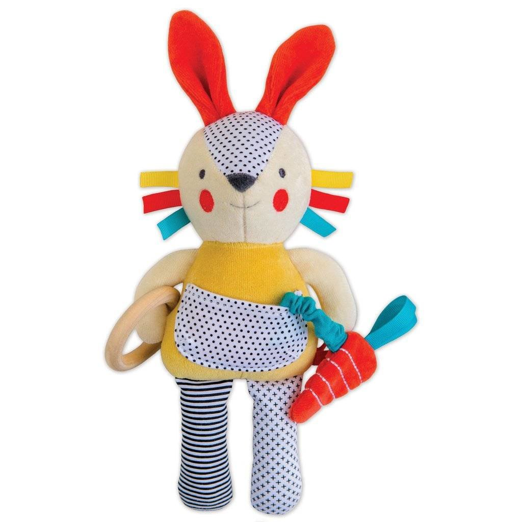 PETIT COLLAGE Petite Collage Organic Baby Activity Toy