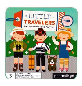 PETIT COLLAGE On-The-Go Magnetic Play Set: Little Travelers