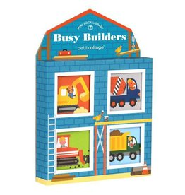 PETIT COLLAGE Busy Builders Mini Library