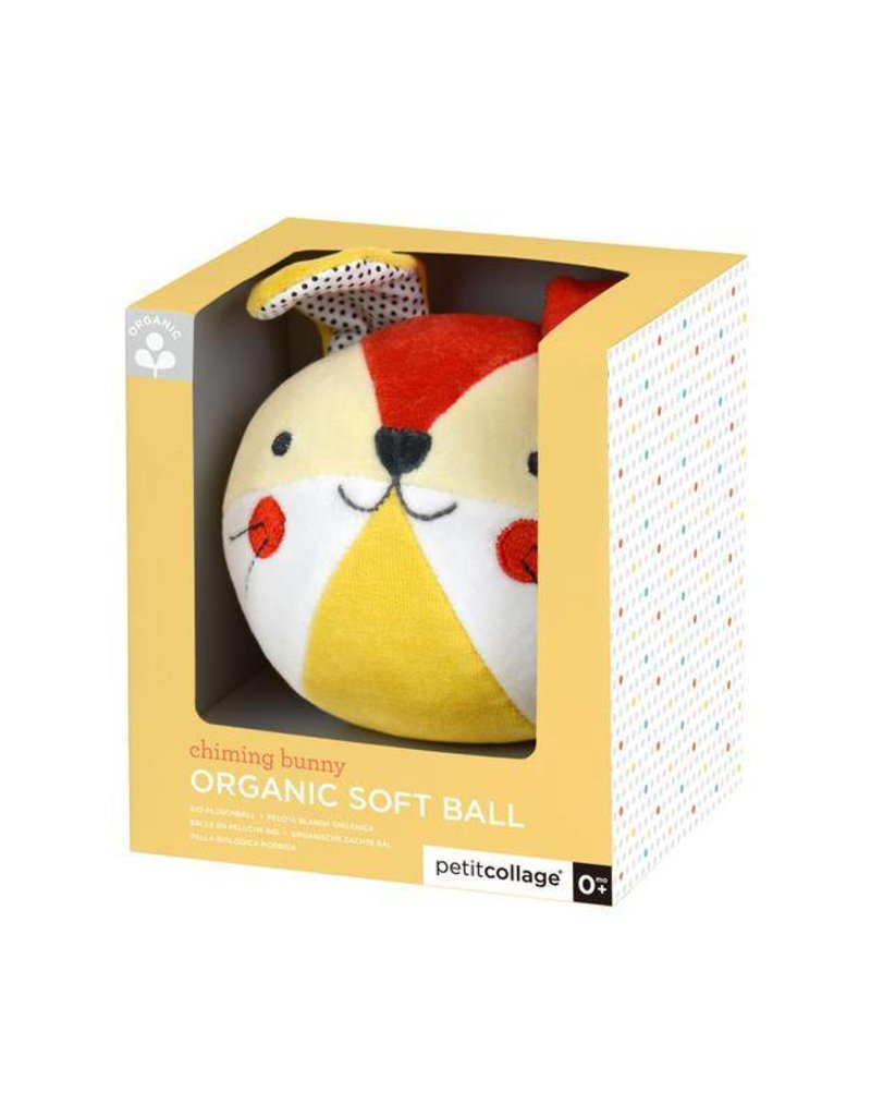 PETIT COLLAGE Organic Soft Chime Ball