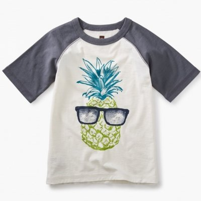 TEA COLLECTION Tea Sunshine Pineapple Tee