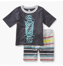 TEA COLLECTION Tea Skateboard Baby Outfit