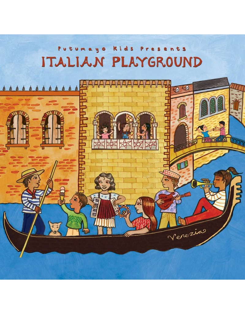 PUTUMAYO Italian Playground CD