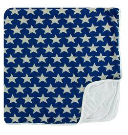 KICKEE PANTS Vintage Stars Toddler Blanket