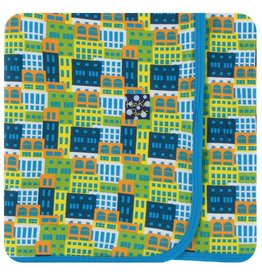 KICKEE PANTS Amazon Houses Swaddling Blanket