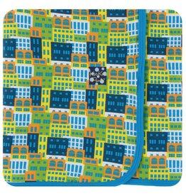 KICKEE PANTS Amazon Houses Swaddling Blanket