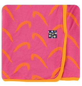 KICKEE PANTS Carnival Feathers Swaddling Blanket