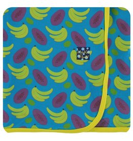 KICKEE PANTS Tropical Fruit Swaddling Blanket