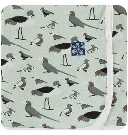 KICKEE PANTS Birds of Kenya Swaddling Blanket