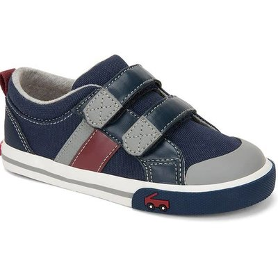 SEE KAI RUN Russell Sneaker - Navy/Red