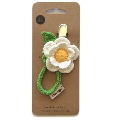 CHEENGOO Cheengoo Daisy Pacifier Clip
