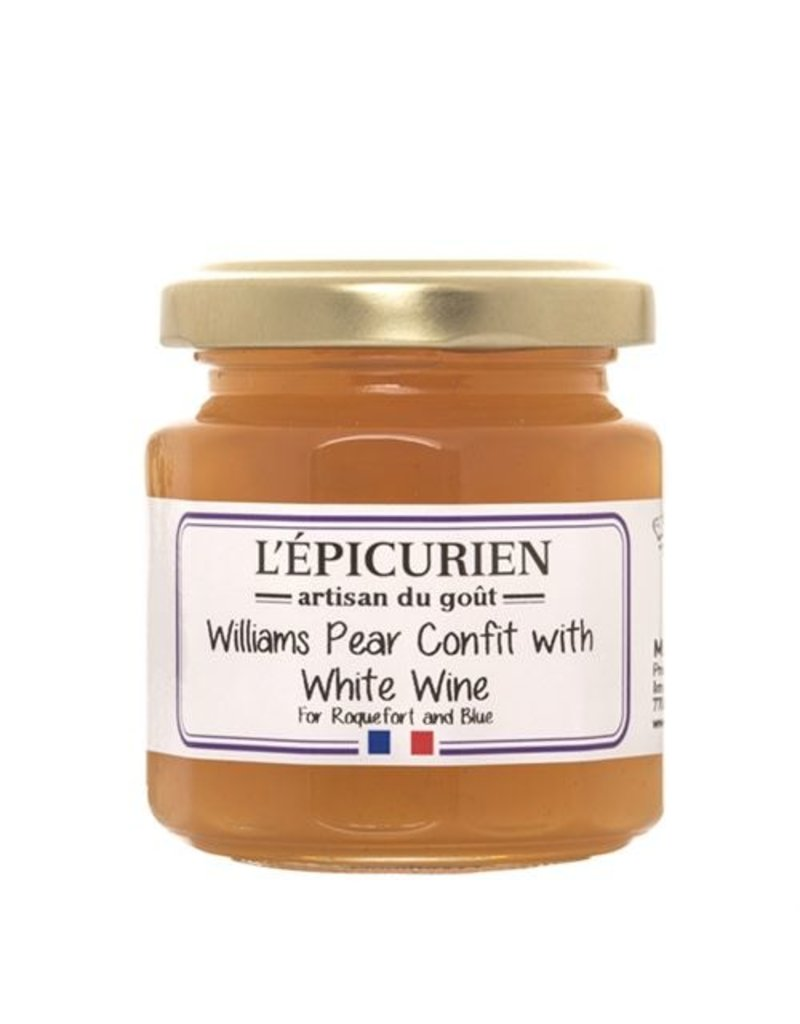 L'Epicurien Williams Pear & White Wine Confit