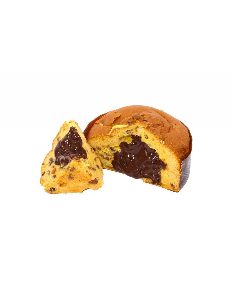 Chocolate Cream Filled Gluten Free Panettone in Gift Box