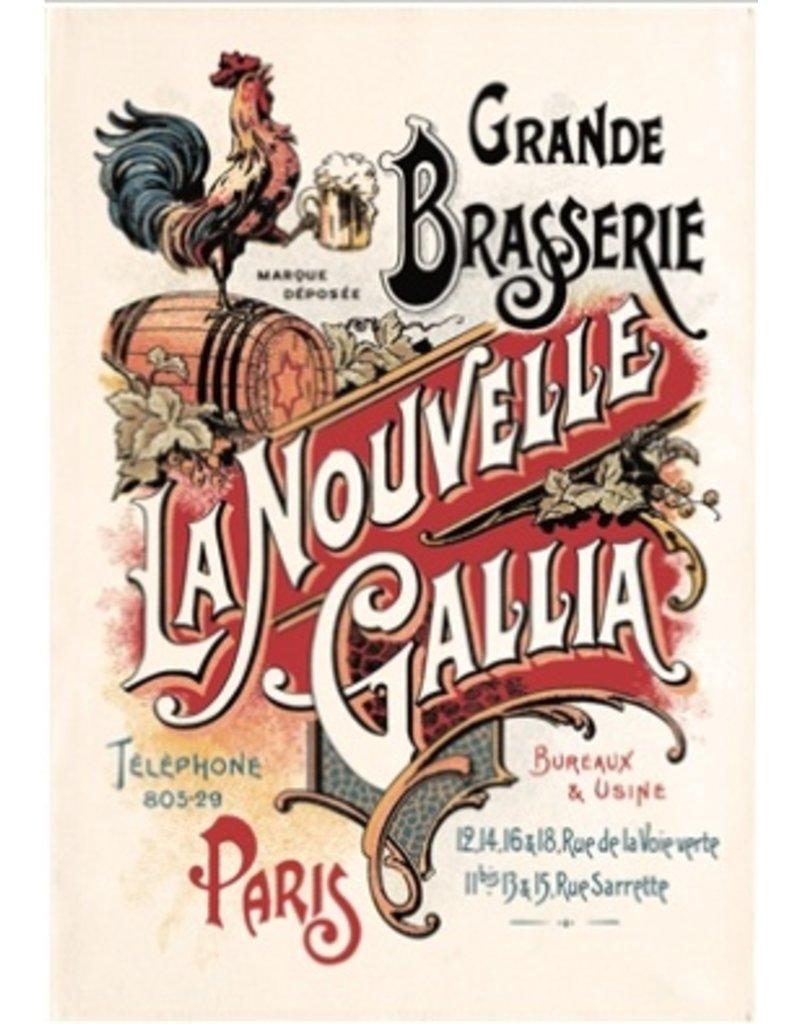 Torchons & Bouchons Tea Towel -Biere Gallia
