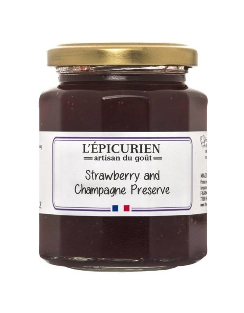 L'Epicurien Strawberry and Champagne Preserves
