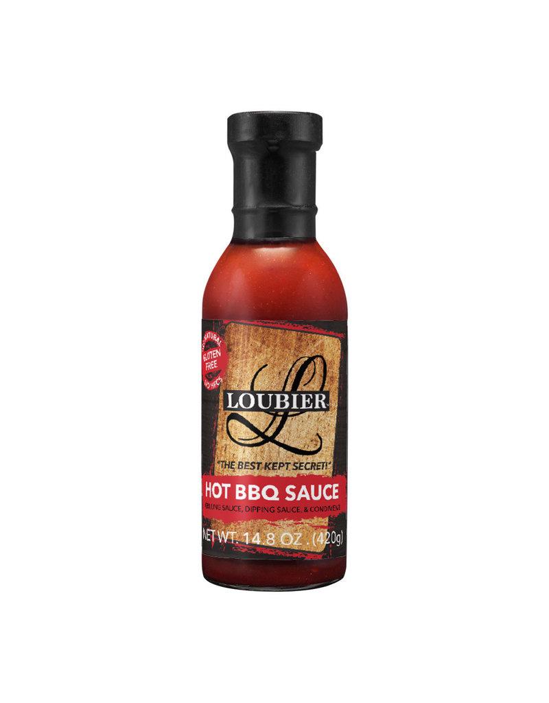 Loubier Gourmet Hot BBQ Sauce