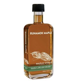 Makrut Lime-Leaf Infused Maple Syrup