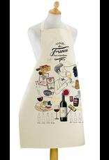 Torchons & Bouchons Apron - Vins de France