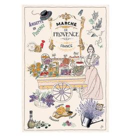 Torchons & Bouchons Tea Towel - Provence Market