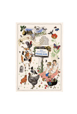 Torchons & Bouchons Tea Towel - French Countryside