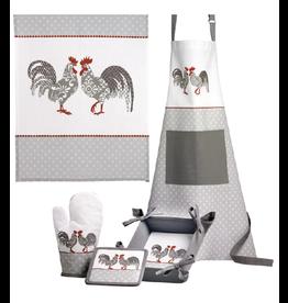 Winkler Tea Towel, Apron & Oven Glove Gift Set - Rustic Rooster