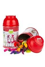 Bonbons Barnier Assorted Fruit Lollipops in Parisian Gift Tin