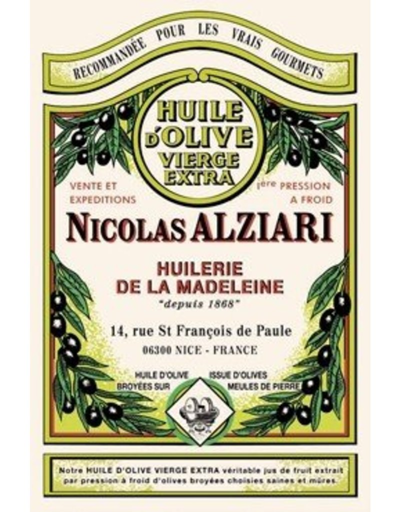 Torchons & Bouchons Tea Towel Olive Oil Alziari