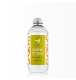 Thymes Mandarin Coriander Reed Diffuser Oil Refill