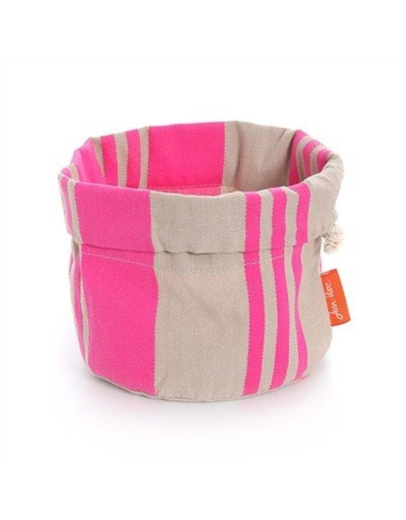 Jean Vier Bread Basket Pink/Beige