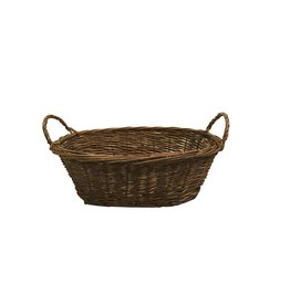 Basket oval w/grips