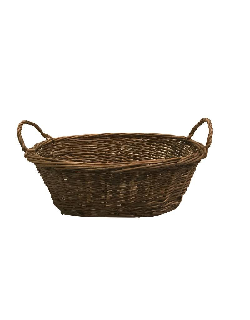 Basket oval w/grips