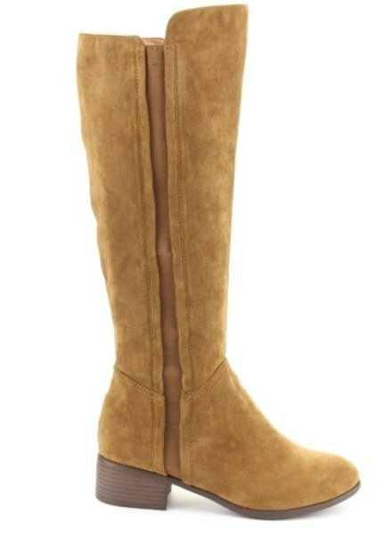 FAUX SUEDE UPPER  BOOTS