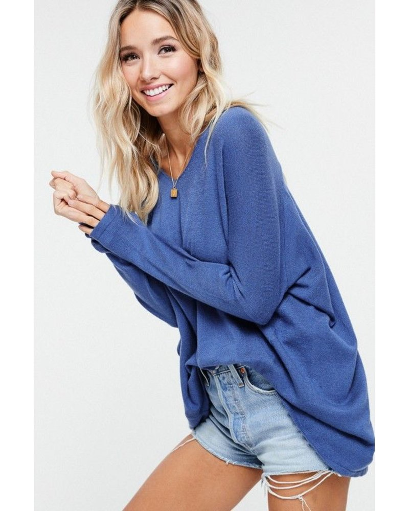 soft luxe sweater tunic top
