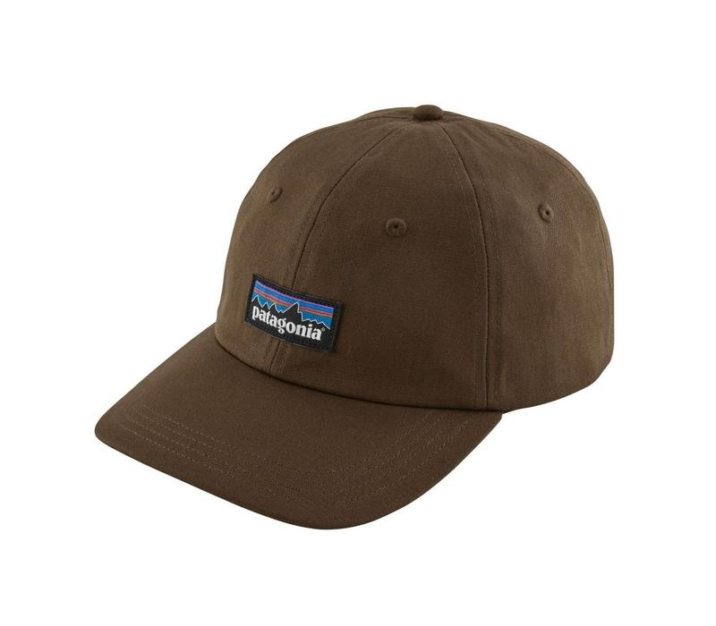 Patagonia P-6 Label Trad Cap Timber Brown