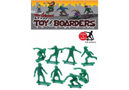 Toy Boarders Toy Boarders Skate Green 24 Pack