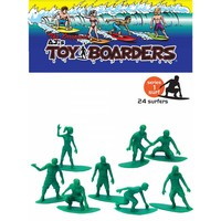 Toy Boarders Surf Green 24 Pack