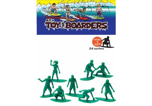 Toy Boarders Toy Boarders Surf Green 24 Pack