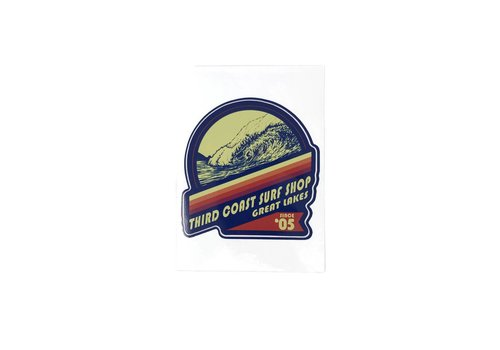 Third Coast Third Coast Deep and Steep Sticker