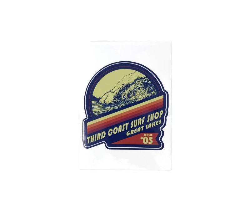 Third Coast Deep and Steep Sticker