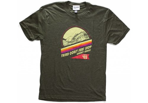 Third Coast Third Coast Deep and Steep Tee Military Green