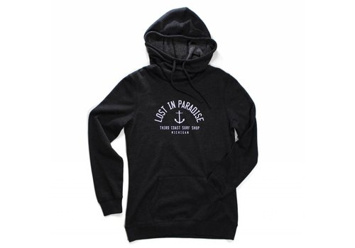 Third Coast Third Coast Lost In Paradise Hoodie Heather Black