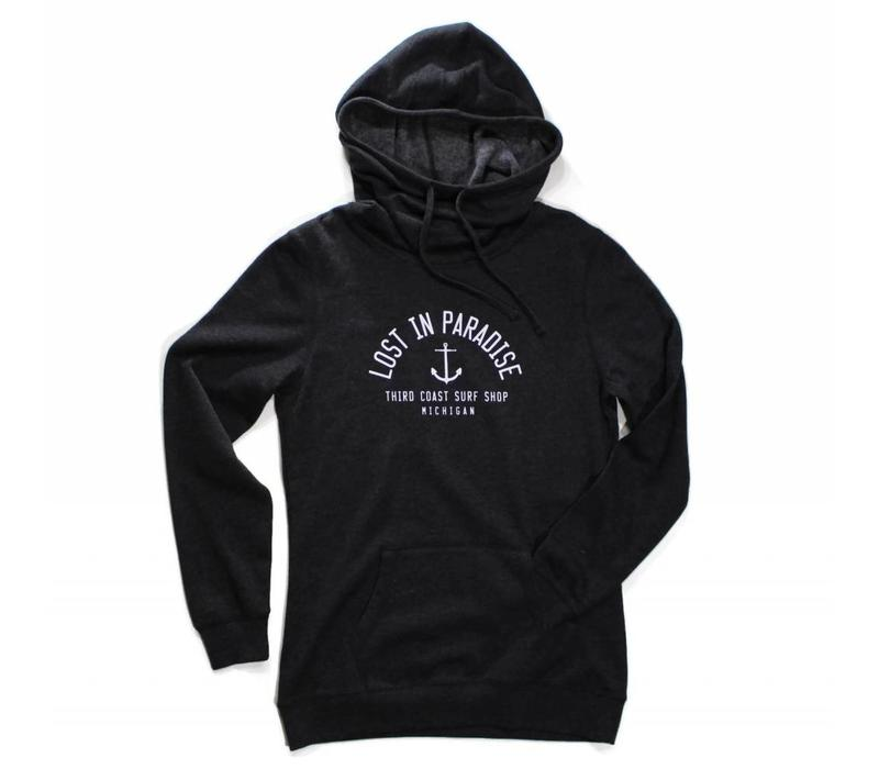 Third Coast Lost In Paradise Hoodie Heather Black