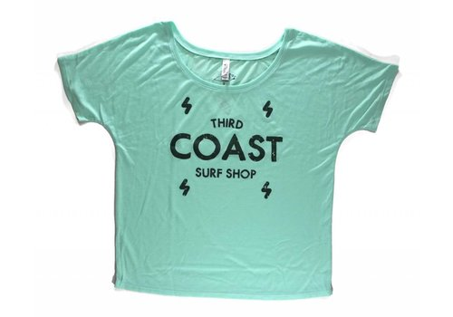 Third Coast Third Coast Bolts Logo Mint Green