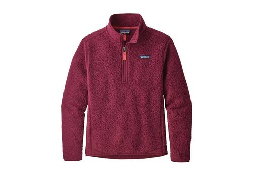 Patagonia Patagonia W's Retro Pile 1/4 Zip Arrow Red