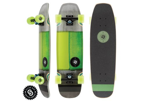 """Sector 9 Sector 9 Sand Shark Complete Green 28.5"""" x 8.0"""""""