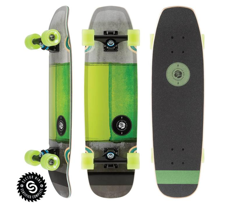 "Sector 9 Sand Shark Complete Green 28.5"" x 8.0"""
