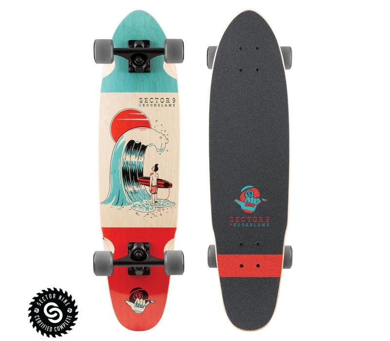 """Sector 9  #Outthere Complete 31.5"""" x 8.25"""""""