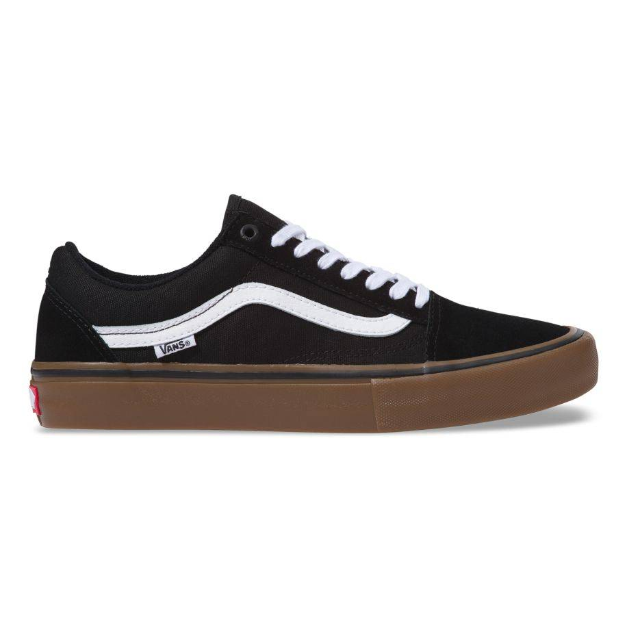 8d597d5c8c Vans Old Skool Pro Black White Gum - Third Coast Surf Shop