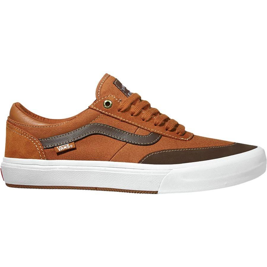 Vans Gilbert Crockett Pro Leather Brown - Third Coast Surf Shop 73d0d3312a