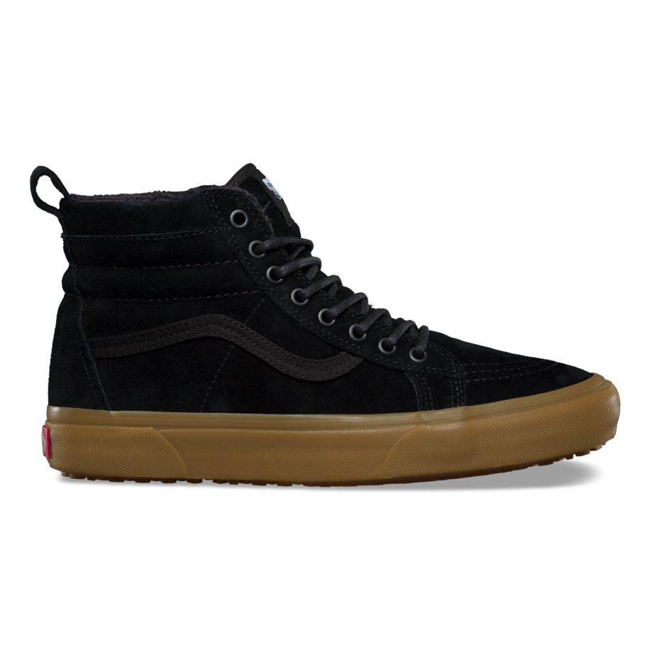Vans Sk8-Hi MTE Black Gum - Third Coast Surf Shop c88337b687e5d